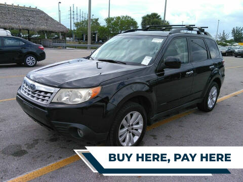 2012 Subaru Forester for sale at Best Auto Deal N Drive in Hollywood FL