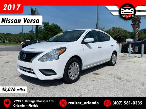 2017 Nissan Versa for sale at Real Car Sales in Orlando FL
