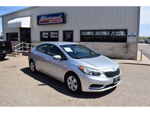 2014 Kia Forte for sale at Chaparral Motors in Lubbock TX
