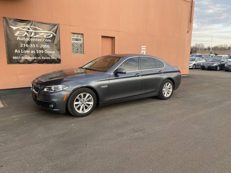 2015 BMW 5 Series for sale at ENZO AUTO in Parma OH