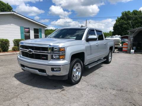 2015 Chevrolet Silverado 1500 for sale at Unique Auto Sales in Knoxville TN