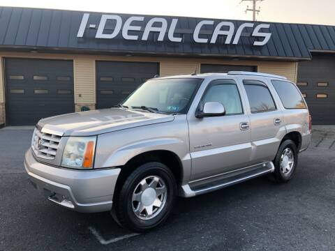2004 Cadillac Escalade for sale at I-Deal Cars in Harrisburg PA