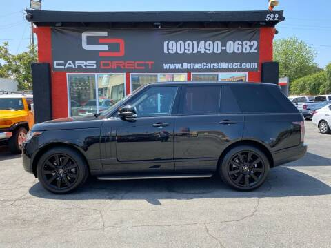 2017 Land Rover Range Rover for sale at Cars Direct in Ontario CA
