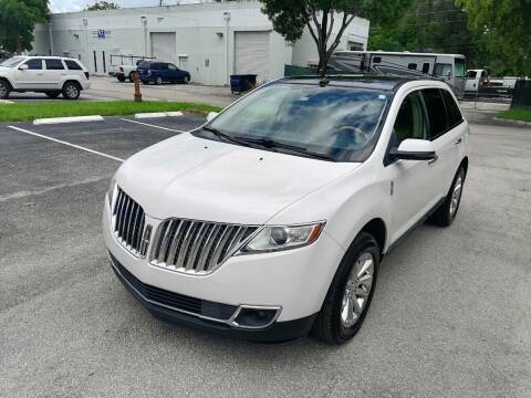 2013 Lincoln MKX for sale at Best Price Car Dealer in Hallandale Beach FL