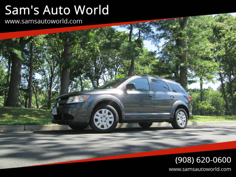 2015 Dodge Journey for sale at Sam's Auto World in Roselle NJ