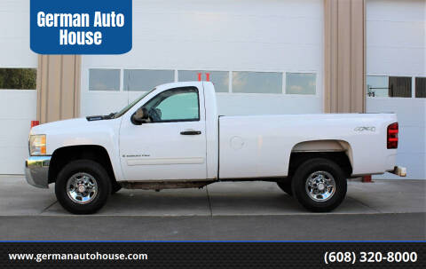 2009 Chevrolet Silverado 2500HD for sale at German Auto House in Fitchburg WI