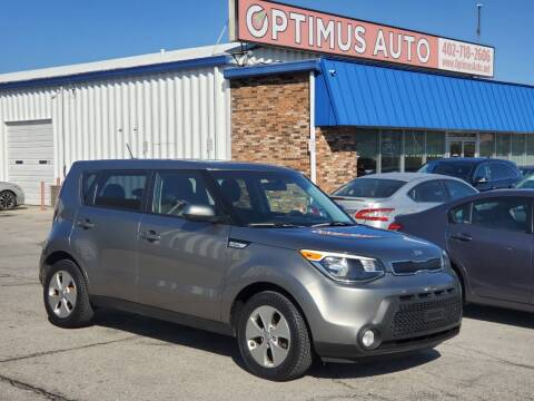 2015 Kia Soul for sale at Optimus Auto in Omaha NE