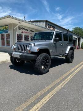 2013 Jeep Wrangler Unlimited for sale at JC Motorsports in Egg Harbor City NJ