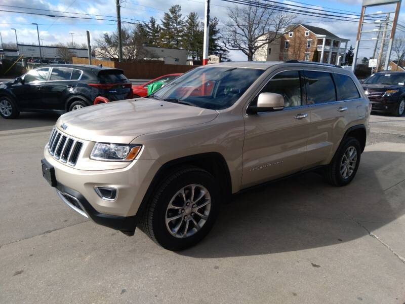 2014 Jeep Grand Cherokee for sale at Rob's Tower Motors in Taneytown MD