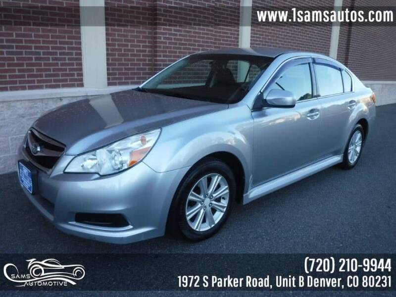 2012 Subaru Legacy for sale at SAM'S AUTOMOTIVE in Denver CO