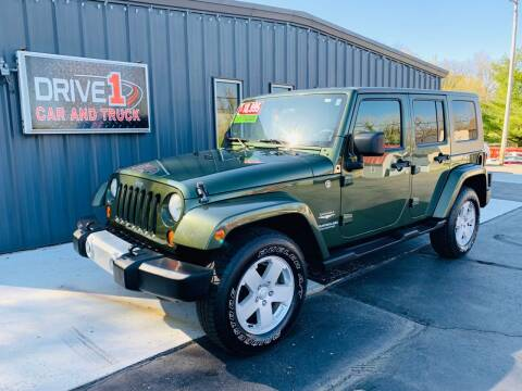 2008 Jeep Wrangler Unlimited for sale at Drive 1 Car & Truck in Springfield OH