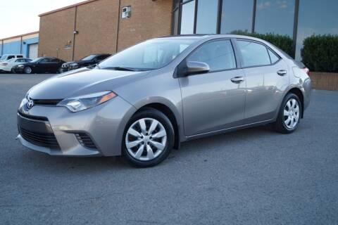 2015 Toyota Corolla for sale at Next Ride Motors in Nashville TN