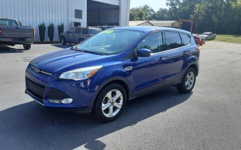 2014 Ford Escape for sale at Mathews Used Cars, Inc. in Crawford GA