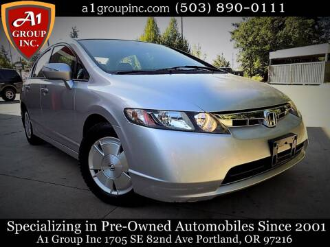 2006 Honda Civic for sale at A1 Group Inc in Portland OR