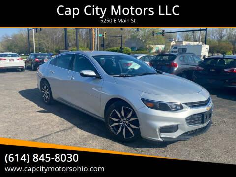 2018 Chevrolet Malibu for sale at Cap City Motors LLC in Columbus OH