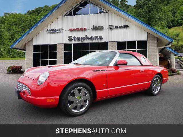 2003 Ford Thunderbird for sale at Stephens Auto Center of Beckley in Beckley WV