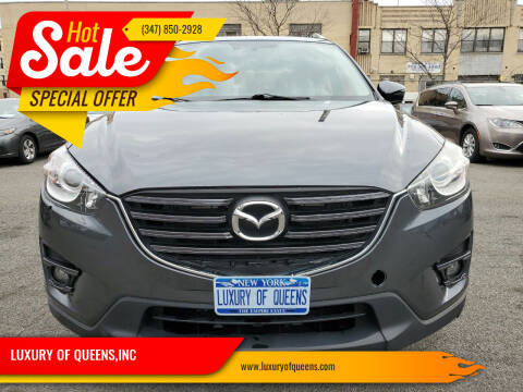 2016 Mazda CX-5 for sale at LUXURY OF QUEENS,INC in Long Island City NY