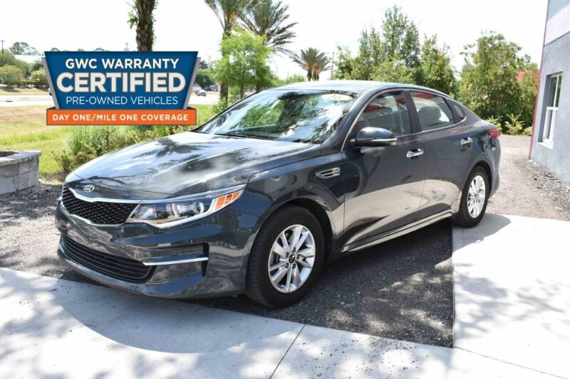 2016 Kia Optima for sale at All About Price in Bunnell FL