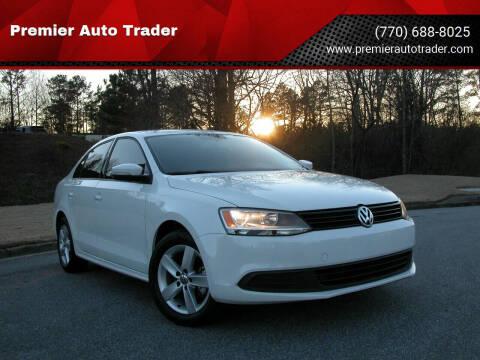 2012 Volkswagen Jetta for sale at Premier Auto Trader in Alpharetta GA