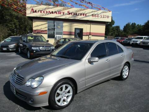 2007 Mercedes-Benz C-Class for sale at Automart South in Alabaster AL