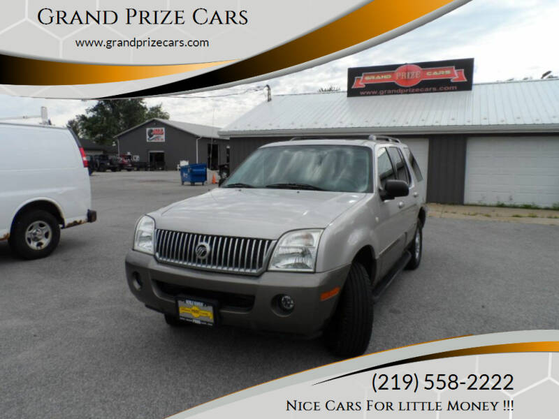 2004 Mercury Mountaineer for sale at Grand Prize Cars in Cedar Lake IN