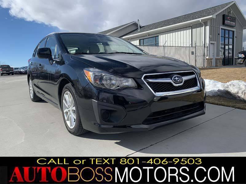 2014 Subaru Impreza for sale at Auto Boss in Woodscross UT