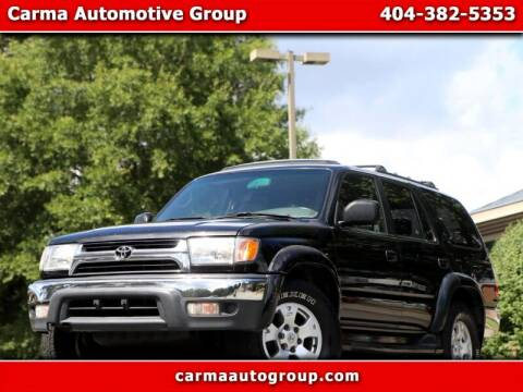 2002 Toyota 4Runner for sale at Carma Auto Group in Duluth GA