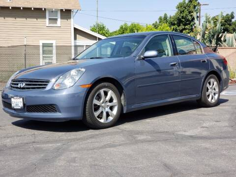 2006 Infiniti G35 for sale at First Shift Auto in Ontario CA