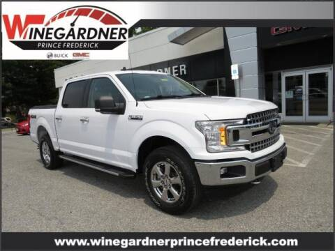 2019 Ford F-150 for sale at Winegardner Auto Sales in Prince Frederick MD