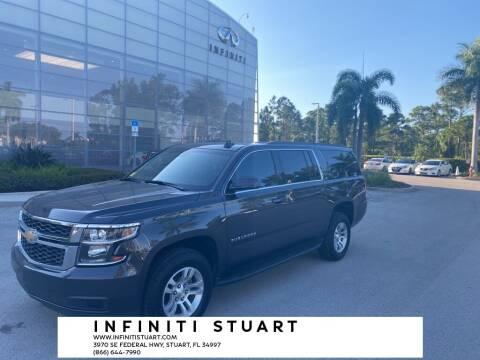 2017 Chevrolet Suburban for sale at Infiniti Stuart in Stuart FL