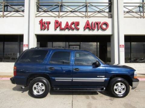 2003 Chevrolet Tahoe for sale at First Place Auto Ctr Inc in Watauga TX