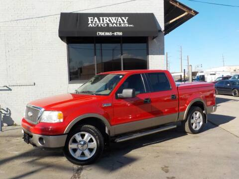 2006 Ford F-150 for sale at FAIRWAY AUTO SALES, INC. in Melrose Park IL