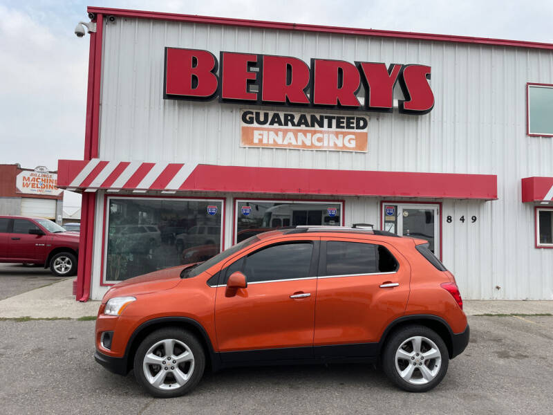 2015 Chevrolet Trax for sale at Berry's Cherries Auto in Billings MT