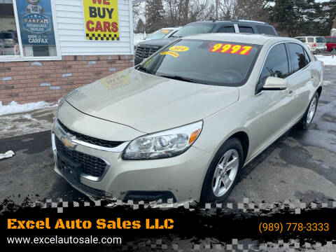 2014 Chevrolet Malibu for sale at Excel Auto Sales LLC in Kawkawlin MI
