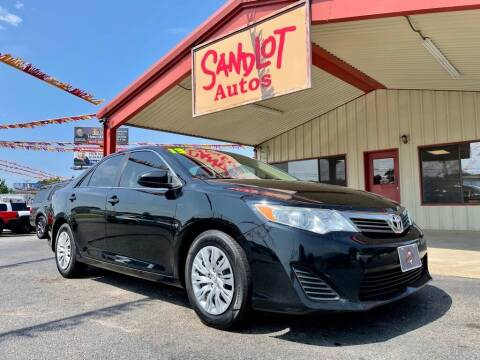 2013 Toyota Camry for sale at Sandlot Autos in Tyler TX