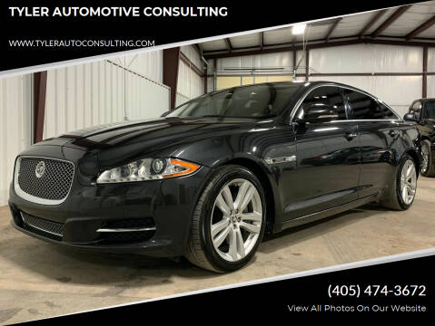 2012 Jaguar XJL for sale at TYLER AUTOMOTIVE CONSULTING in Yukon OK