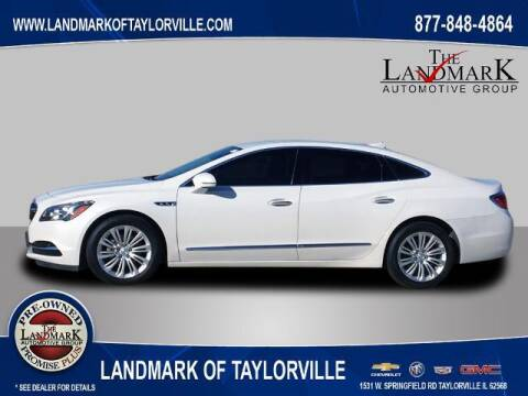 2018 Buick LaCrosse for sale at LANDMARK OF TAYLORVILLE in Taylorville IL