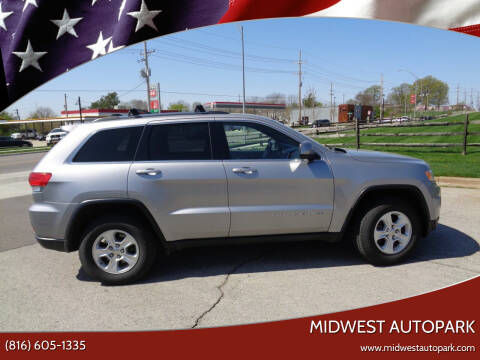 2015 Jeep Grand Cherokee for sale at Midwest Autopark in Kansas City MO