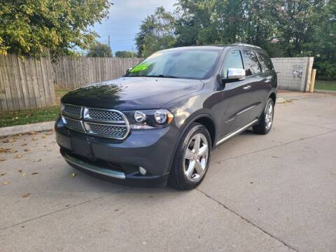 2011 Dodge Durango for sale at Harold Cummings Auto Sales in Henderson KY