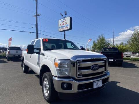 2015 Ford F-350 Super Duty for sale at S&S Best Auto Sales LLC in Auburn WA