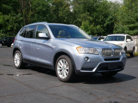 2014 BMW X3 for sale at Canton Auto Exchange in Canton CT