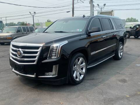 2015 Cadillac Escalade ESV for sale at KAP Auto Sales in Morrisville PA