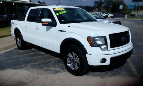 2014 Ford F-150 for sale at Jim Clark Auto World in Topeka KS