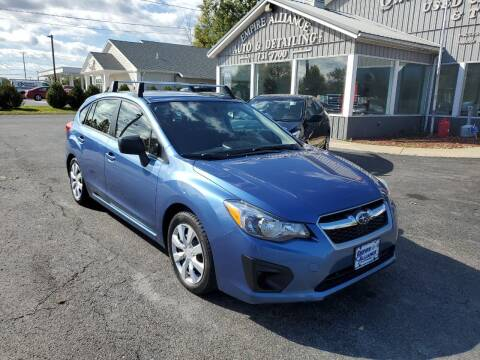 2014 Subaru Impreza for sale at Empire Alliance Inc. in West Coxsackie NY