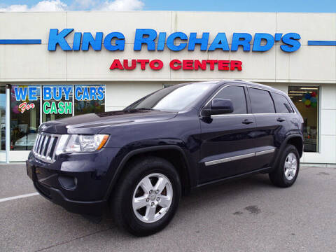 2012 Jeep Grand Cherokee for sale at KING RICHARDS AUTO CENTER in East Providence RI