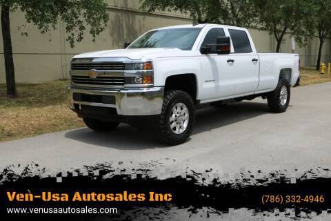2015 Chevrolet Silverado 3500HD for sale at Ven-Usa Autosales Inc in Miami FL