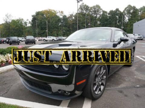 2018 Dodge Challenger for sale at BRYNER CHEVROLET in Jenkintown PA