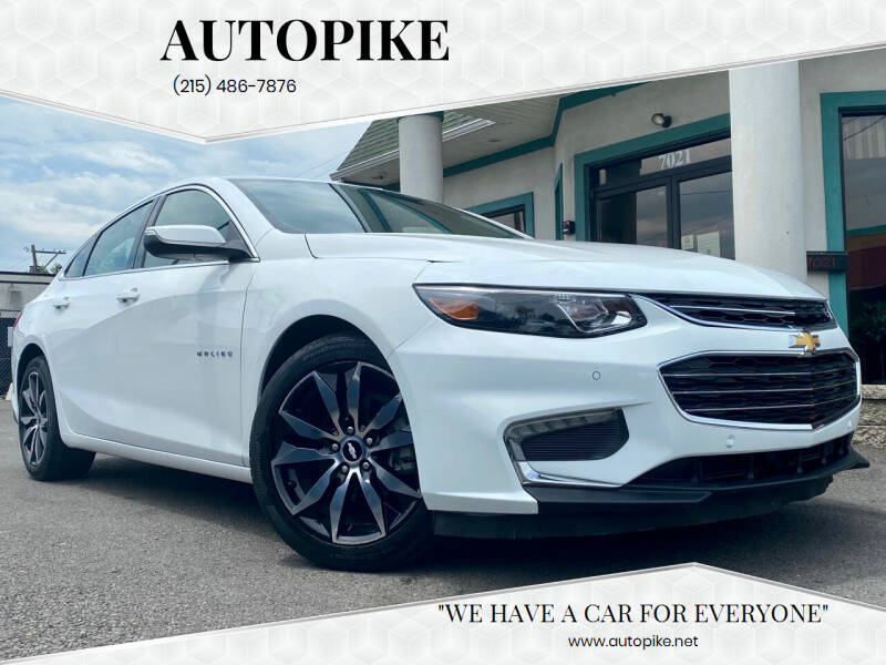 2016 Chevrolet Malibu for sale at Autopike in Levittown PA