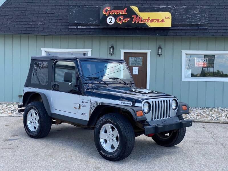 1997 Jeep Wrangler for sale at Good 2 Go Motors LLC in Adrian MI