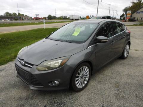 2012 Ford Focus for sale at Cycle M in Machesney Park IL